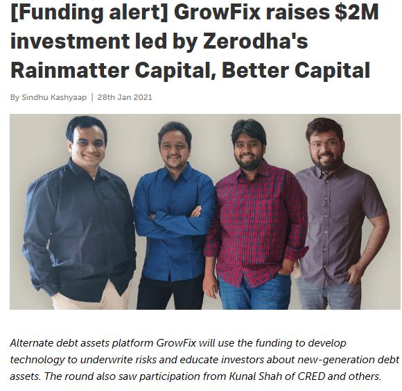 Growfix funding