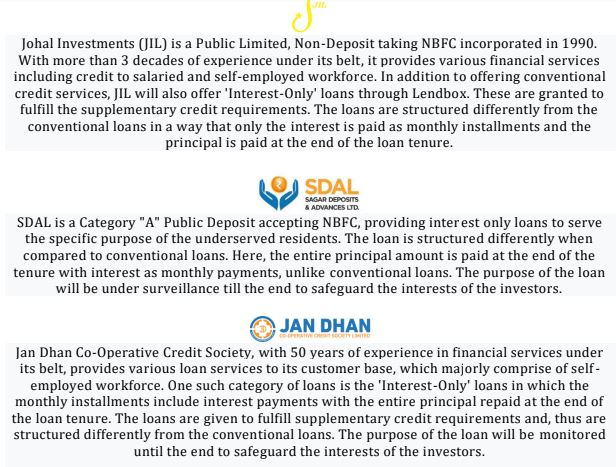 Lendbox Gold Loan
