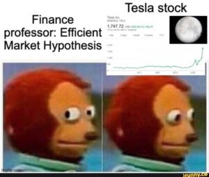 tesla Efficient Market