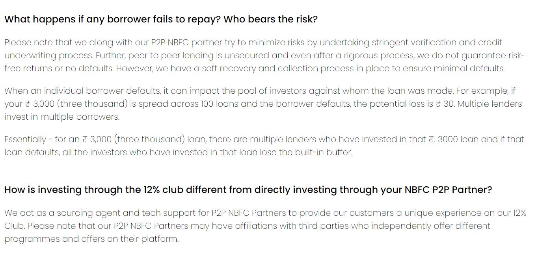 12% Club Risk